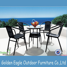 Novo estilo Outdoor Bar Table and Chair Set