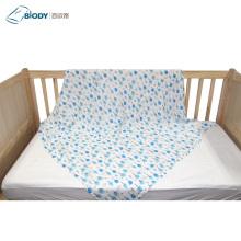 Cute Printed Big Muslin Swaddle Kid Blanket