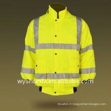 Vêtements de travail de sécurité chaussure de protection haute sécurité 3m veste réfléchissante