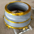 Cone Crusher Parts Mantle Bowl Liner for Quarry Industry
