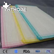 pano de prato quente da tela da gaze do algodão da venda 100%