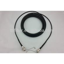 Táctico impermeável singlemode ODC 2 núcleo fibra óptica patch cord