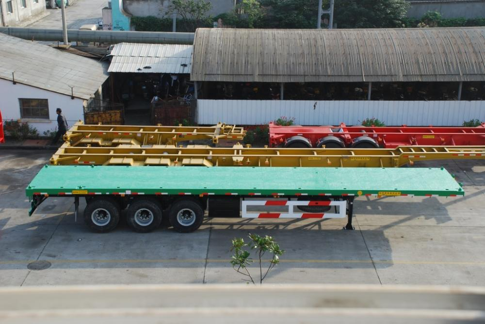 40' Three-Axle Flatbed Semi-Trailer