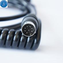 Cabo espiral de cigarro eletrônico de carro flexível