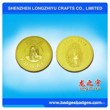 Liga de zinco Die Casting Coin em estilo luxuoso