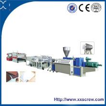 Xinxing Sjz CE Ligne de production de mousse de PVC certifiée