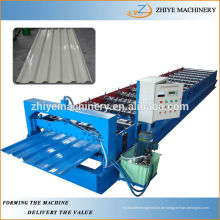 Trapez-Stahldach-Blech-Umformmaschine