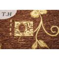 Dubai Chenille Canapé Tissu De Couleur Marron