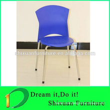 modern durable plastic steel chair