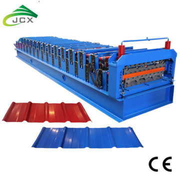 Aluminium Zinc Metal Roof Sheet Forming Machine
