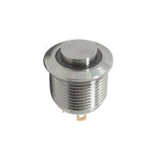 Interruptores do metal da tecla do diodo emissor de luz do Anti-vândalo IP67
