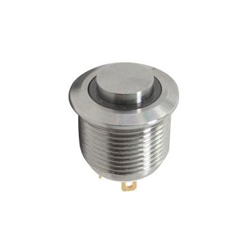 Interrupteurs métalliques à bouton-poussoir LED anti-vandalisme IP67