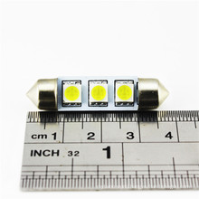 Factory wholesale auto license plate lamp 5050 3SMD 39MM led car interior lights