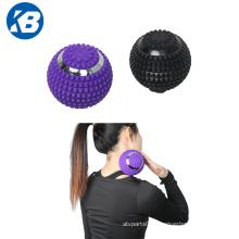 Yoga vibrating massage roller ball 4 modes massage balls