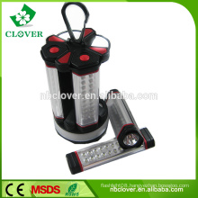 80LED+4 0.5WLED ABS material led flashlight torch,led camping light