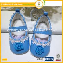 2016 nouveau style belle mode en gros pu cuir bébé enfants chaussures de fille
