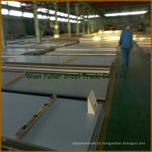 Folha de aço inoxidável de alta qualidade 304 com preço de fábrica