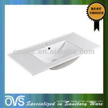 Hot Sale Wash Hand Basin, Hand Ceramic Counter-Top Wash Basin