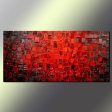 Hand-Painted Abstract Oil Painting Canvas Wall Art