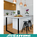 Double Colour Asian Style UV Kitchen Cabinets Furniture (AIS-K247)