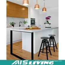 Mobília UV dos armários de cozinha do estilo asiático dobro da cor (AIS-K247)