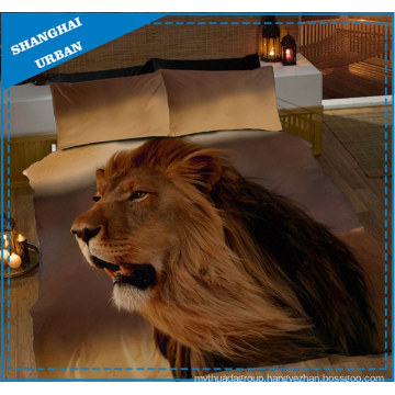 African Animals 3D Printed Duvet Cover Bedsheet Set