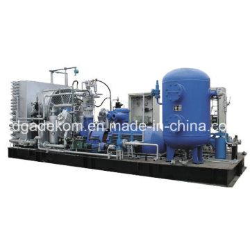 Compresseur CNG à gaz naturel à piston alternatif à basse pression (Kdw-80/2