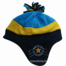 Polar fleece hat for children