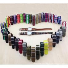 Yxl-455 Umweltfreundlicher Nylonuhr-Bügel, Art- und Weisedame-Uhrenarmband-Bügel Großhandelsnato-Uhrenarmband Soem-Fabrik