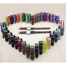 Yxl-455 Eco-Friendly Nylon Watch Strap, Fashion Ladies Watch Band Straps Wholesale Nato Watch Strap OEM Factory
