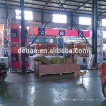 Projeto da cabine de exposição da ilha de 30x30 pés, exposição portátil da cabine de exposição do fardo