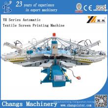 Yh-104/8 Rotatory Automatic Textile Screen Printer