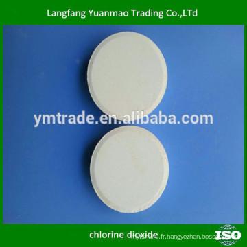 Clo2 stabilisé pour purification de l'eau / piscine