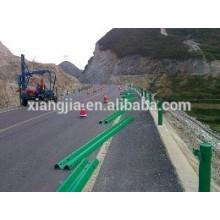 W beam and three beam guardrail