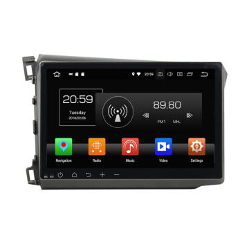 Android Car Multimedia System voor HONDA CIVIC 2012