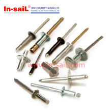 Kostenlose Proben Aluminium solide Runde Kopf Nieten