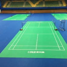 Tragbarer Badminton Court Mat-Zipper Tech