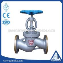 wcb din standard globe valve pn16 with good price