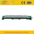 24 heads 1500rpm high speed embroidery machine
