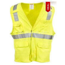 Men's  High-Visibility Flame-Resistant Safety Vest