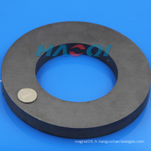 Anneau Ferrite Ceramic Round Base Magnets