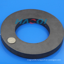 Ring shape ferrite magnet composite