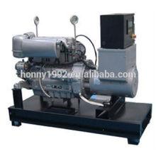 50 / 60Hz Basis Kraftstoff Tank Diesel Generator 30kV A