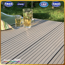 Factory High Quality Stock Waterproof Wood-Plastic Composite Decking