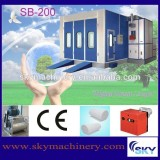 SB300, industrial paint spraying booth furniture painting machine