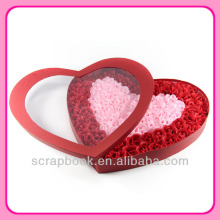 Романтический день Святого Валентина подарок мыло Цветы Роза
