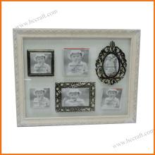 Antiker hölzerner Fotorahmen für Hauptdekor