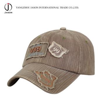 Casquillo lavado Gorra de béisbol Sombrero deportivo Gorra de béisbol de algodón Sombrero de golf gorra de moda