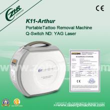 K11 Multifunktions-effektive Mini tragbare ND YAG Laserentfernungsmaschine