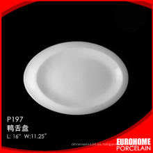 plato de sopa de hotel de Chaozhou fábrica cerámica por mayor